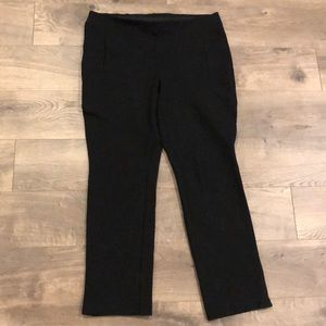 Chico's Leggings Size 1 Short Black